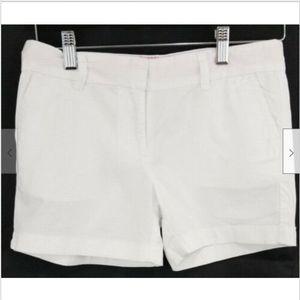 Vineyard Vines Girls Shorts 14 cotton white casual